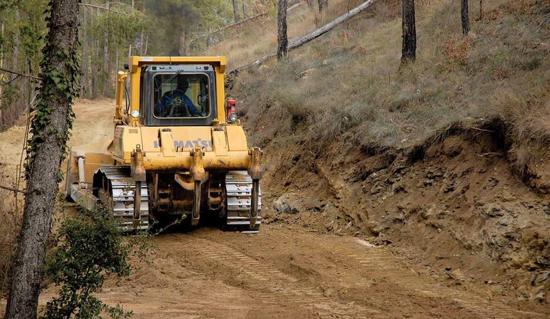 treballs forestals