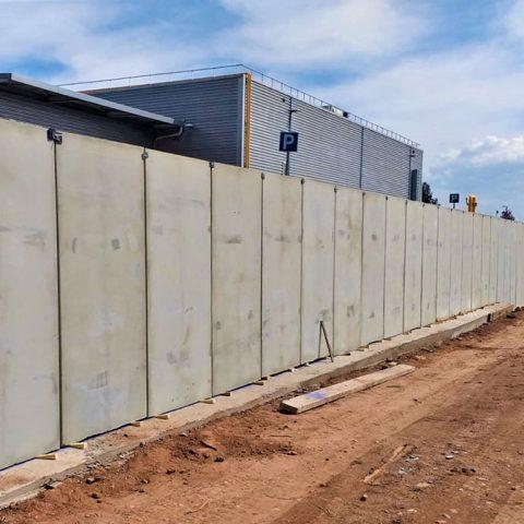 Construcció de mur exterior, Denso